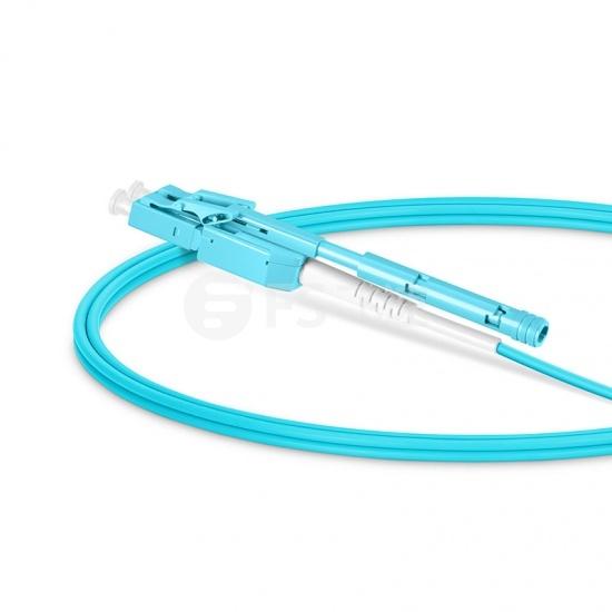 LC/UPC-LC/UPC 万兆双工多模OM3光纤跳线,一管双芯,弯曲不敏感,0.2dBIL低插损