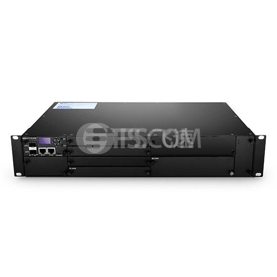 定制1U/2U/ 4U FMT系列管理机箱,最多可装载16台业务卡