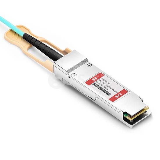 30m 思科(Cisco)兼容QSFP-4SFP25G-AOC30M  100G QSFP28 转 4xSFP28  OM3 有源分支光缆