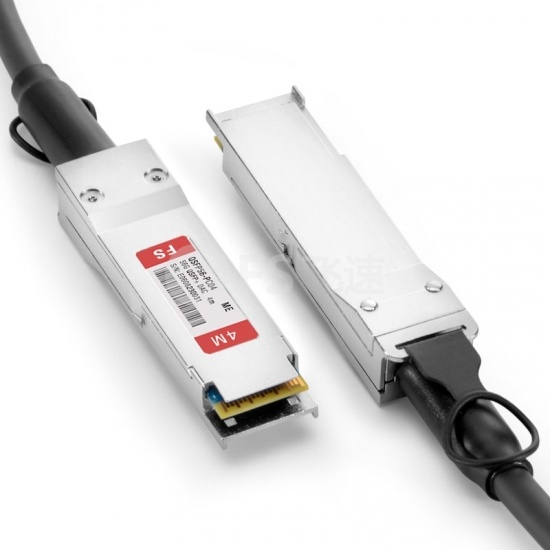 4m 迈络思(Mellanox) 兼容MC2207130-004 56G QSFP+ 无源铜芯高速线缆