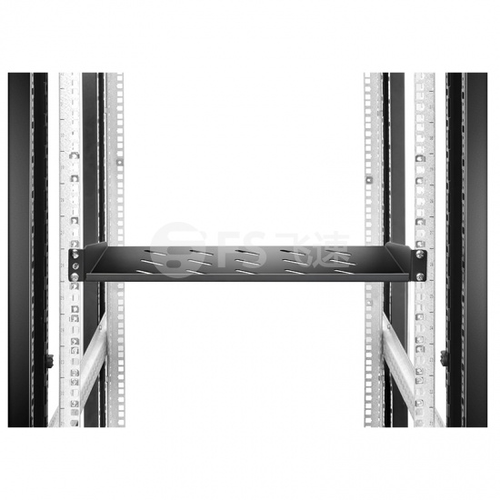 1U 19英寸固定式网络机柜托盘