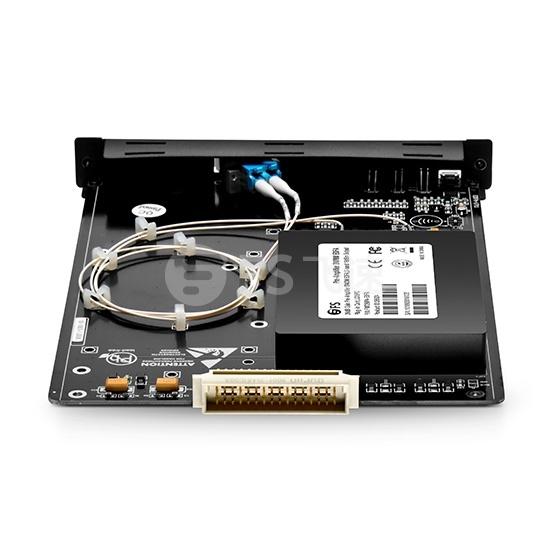 C-band  40通道DWDM EDFA掺铒功率放大器  17db增益   输出光功率17dbm,热插拔,用于FMT光传输平台