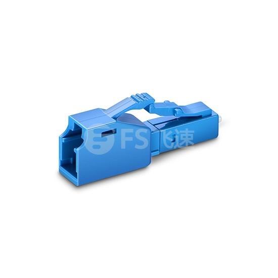 LC/UPC 阴阳式 单模 固定式光纤衰减器 7dB,公头-母头(10pcs/包)