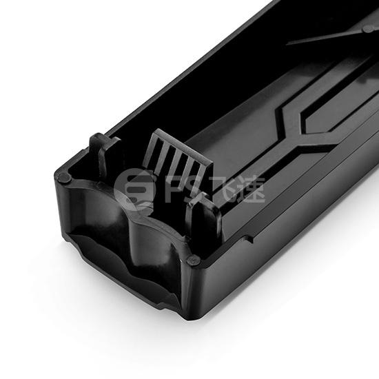 1U 19英寸黑色免工具安装卡入式挡板(10片/包)