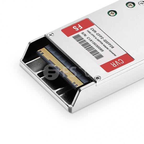 中性(Generic)兼容CVR-CFP2-100G 100G CFP2转QSFP28转换模块