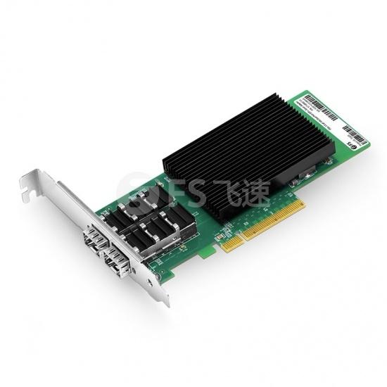 Intel® X710-BM2 双端口万兆10G SFP+ PCIe 3.0 x8, 光纤网卡
