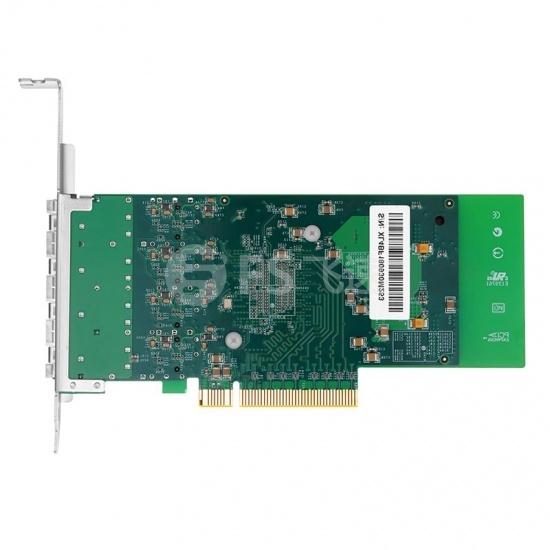 Intel® XL710-BM1 四端口 万兆10G SFP+  PCIe 3.0 x8, 光纤网卡