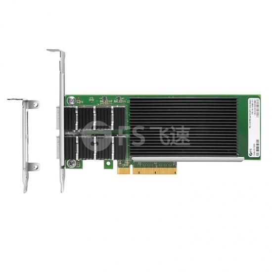Intel® XL710-BM2 双端口40G QSFP+ PCIe 3.0 x8, 光纤网卡