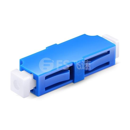 LC/UPC-LC/UPC 单工单模光纤适配器电信级(10个/盒)