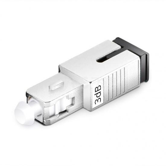 SC/UPC 单模固定式光纤衰减器,公头-母头, 3dB,(10pcs/包)