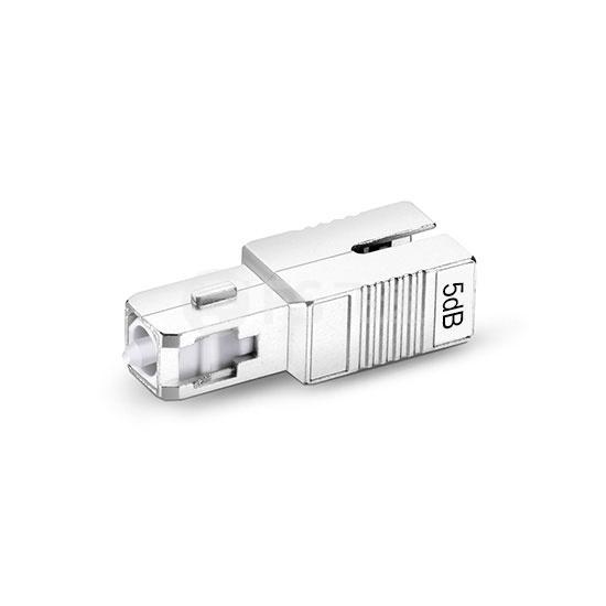 SC/APC单模固定式光纤衰减器,公头-母头, 5dB,(10pcs/包)