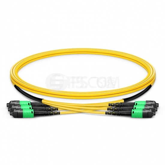 定制8-144芯万兆单模(OS2)MTP® PRO(12芯)主干光纤跳线