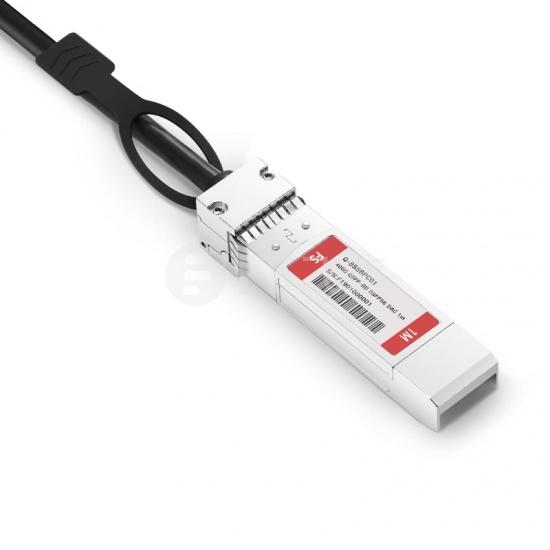 1m Arista Networks兼容CAB-D-8S-400G-1M 400G QSFP-DD 转 8*50G SFP56 无源铜芯高速线缆