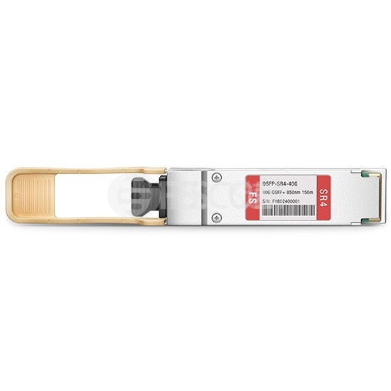 Edge-Core兼容 ET6401-SR4  QSFP+光模块 850nm 150m MTP/MPO
