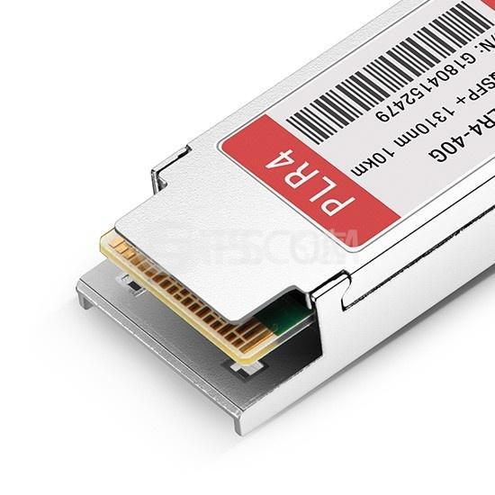 Edge-Core兼容 ET6401-PLR4  QSFP+光模块 1310nm 10km MTP/MPO