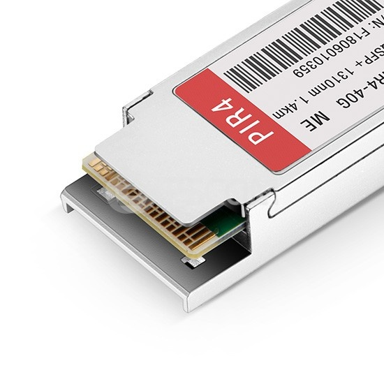 Edge-Core兼容 ET6401-PIR4  QSFP+光模块 1310nm MTP/MPO