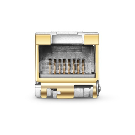 阿尔卡特朗讯(Alcatel-Lucent)兼容 iSFP-10G-T 万兆电口光模块 30m