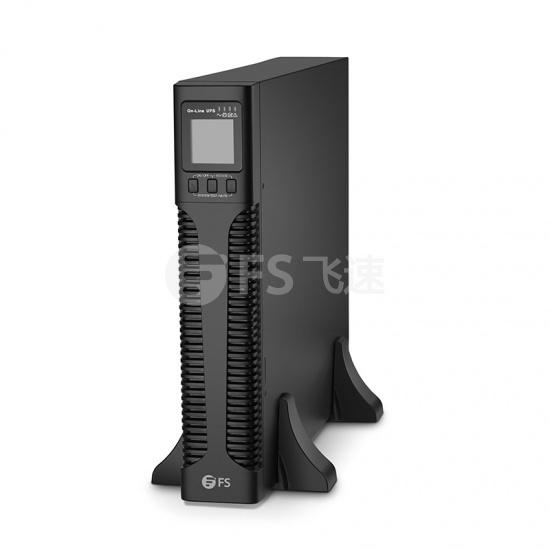 3000VA/2700W,120V 单相双变换在线式UPS不间断电源,不含电池,机架式&塔式