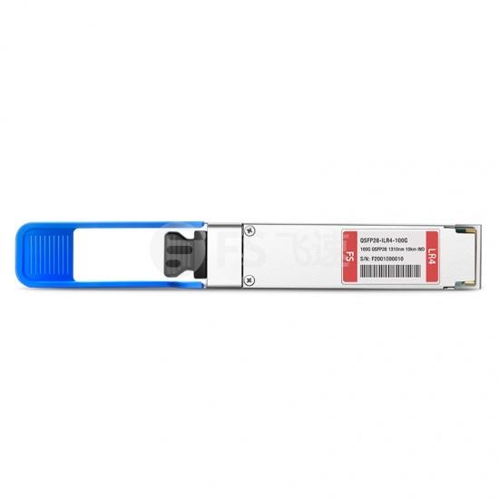 思科(Cisco)兼容QSFP-100G-LR4-S QSFP28工业级光模块  1310nm 10km