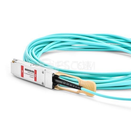 1m 迈络思(Mellanox)兼容MFA7A50-C001 100G QSFP28 转 4xSFP28  OM3 有源分支光缆
