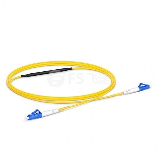 1m LC/UPC -LC /UPC 单模单工光纤测试跳线,带10dB衰减