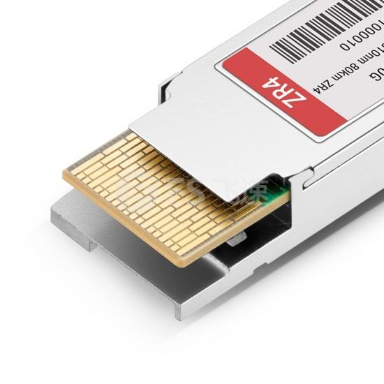 中性(Generic)兼容100GBASE-ZR4 QSFP28光模块 1310nm 80km