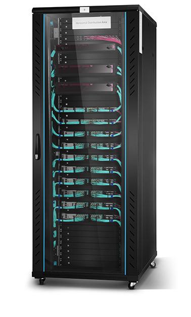 Data centre fibre optic transceiver