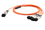 QSFP+ to 4xSFP+ AOC Active Optical Cable