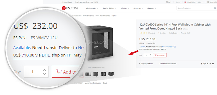 Shipping & Delivery | FS - Fiberstore